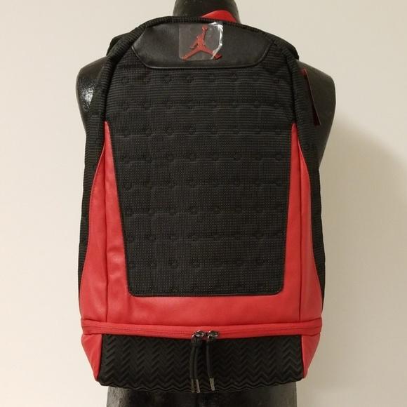 sports shoes 47884 55f20 Air Jordan XIII Retro 13 Nike leather Backpack NWT NWT